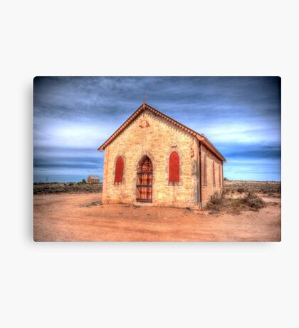 Worship In The Past Canvas Print