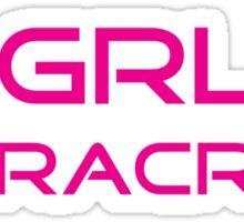 Girl Racer 1 Sticker