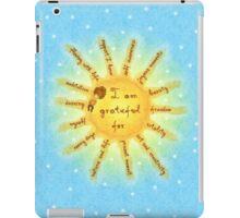 I am grateful for... iPad Case/Skin
