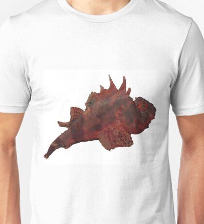 Unique Red Fish Underwater Marinelife  Unisex T-Shirt