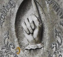Grave Hand by farmbrough