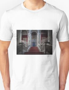 Margam Castle staircase Unisex T-Shirt