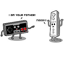 I am your father! Photographic Print