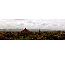 Temples at Bagan, Burma. Photographic Print