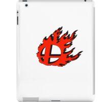 Red smash ball Emboss iPad Case/Skin