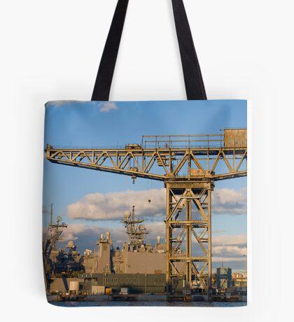 Historic crane Tote Bag