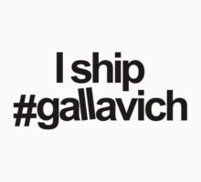 I ship #gallavich by darecrisp
