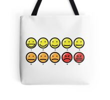 On a scale of 1 to 10 how would you rate your pain ? Tote Bag