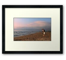 Sauble Beach, Photographers' delight Framed Print