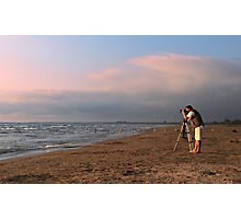 Sauble Beach, Photographers' delight Photographic Print