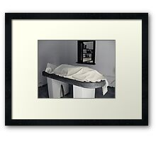 Mortuary Framed Print