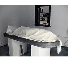 Mortuary Photographic Print