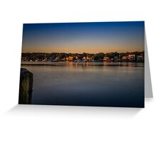Mahone Bay from Oakland Greeting Card