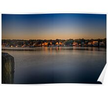 Mahone Bay from Oakland Poster