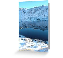 Lake Angelus Reflections Greeting Card