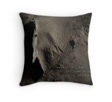 Winter Tideline Throw Pillow