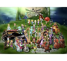 The Legend of Zelda -  The Legend Story Photographic Print