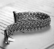 Helm Sheet Bracelet Experiment by JVBurnett
