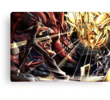 Yu-Gi-Oh! - Yami Yugi Vs Marik Canvas Print