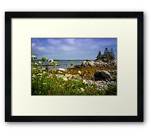 Pleasant Point Beach Framed Print