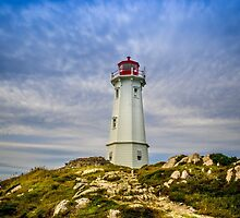 Louisbourg Lighthouse by mlphoto