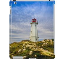 Louisbourg Lighthouse iPad Case/Skin