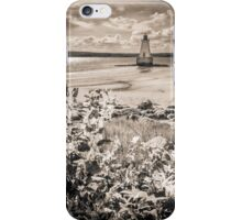 Sandy Point Lighthouse iPhone Case/Skin