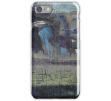 spring landscape with fence iPhone Case/Skin