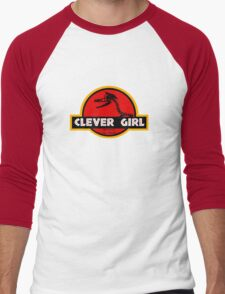Clever Girl Men's Baseball ¾ T-Shirt