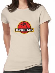 Clever Girl Womens Fitted T-Shirt
