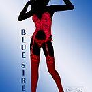 Blue Siren - Red by ascavilya