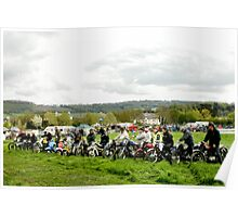 Motor Cycles through the ages Poster