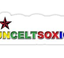 I Love Boston Sports (nautical star) Sticker