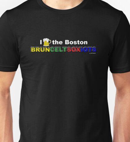I Love Boston Sports (beer) Unisex T-Shirt