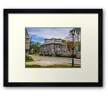Coopers Inn Shelburne Framed Print