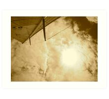 Sailin' Skies Art Print