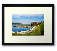 Shelburne Waterfront Framed Print