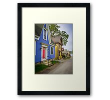 15 Charlotte Lane Shelburne Framed Print
