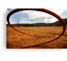 Dry water source Canvas Print