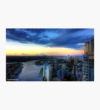 Surfers Paradise, Gold Coast Photographic Print