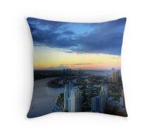 Surfers Paradise, Gold Coast Throw Pillow