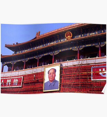 Chairman Mau Poster