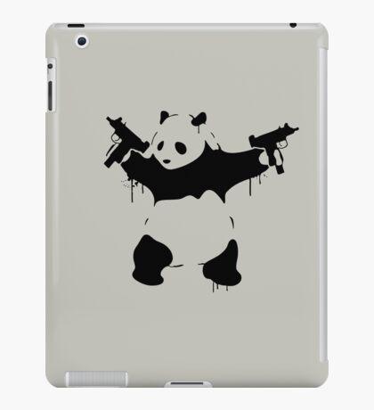 Banksy Panda With Guns iPad Case/Skin