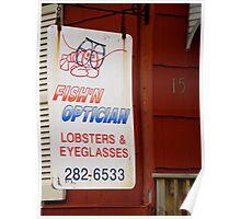 Fish'n Optician Poster