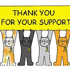 Yellow ribbon, thank you for your support. by KateTaylor