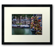 Love Locks Framed Print