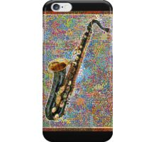 Colorful Saxophone iPhone Case/Skin