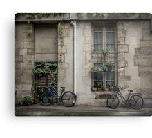 The Bicycles Metal Print