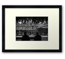Paris Park Framed Print