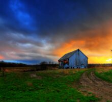The Barn by Ron Waldrop